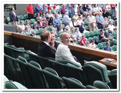 Wimbledon 2012 Agassi
