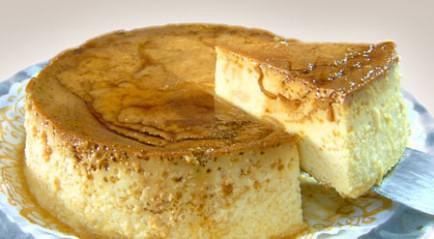 Recetas de mi tia receta para el flan napolitano con queso - Flan de huevo al bano maria en olla express ...