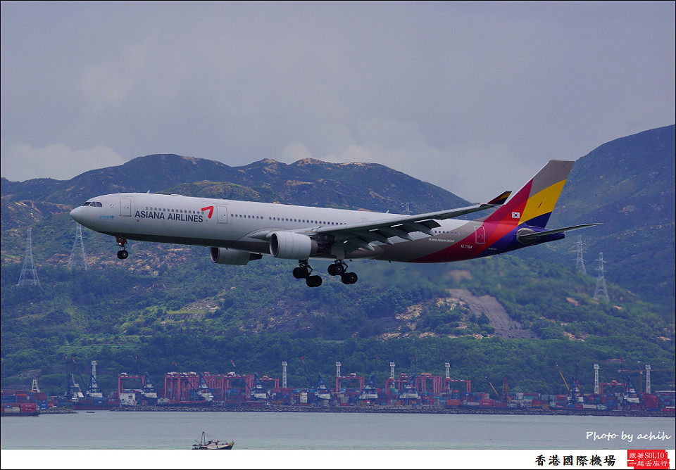 Asiana Airlines / HL7754 / Hong Kong International Airport