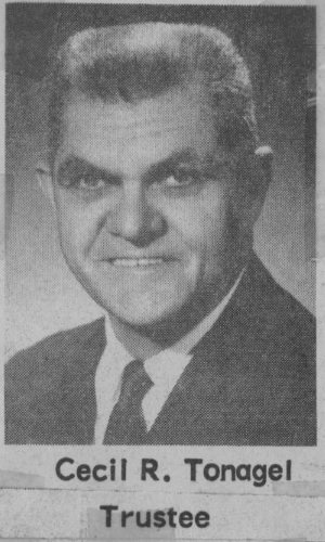 Cecil Tonagel ca. 1959
