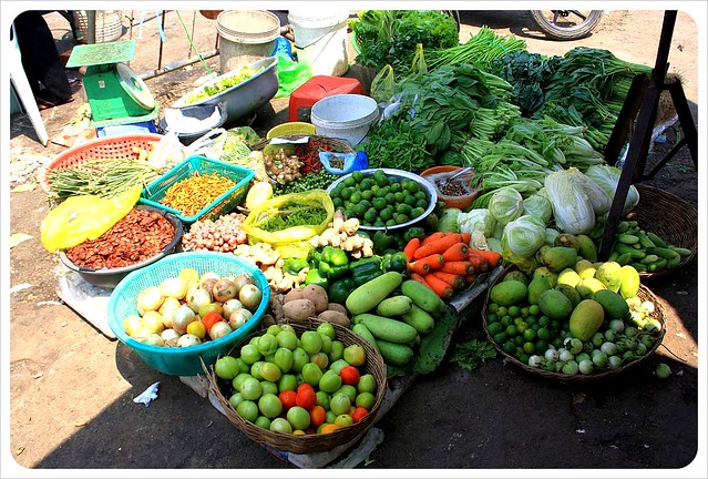 battambang market vegetables