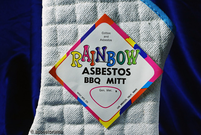 Asbestos Textile BBQ Mitt
