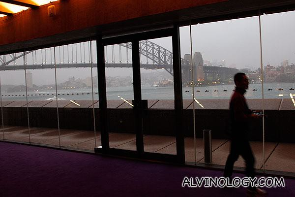 View of Sydney Harbour Bridge from the Opera House