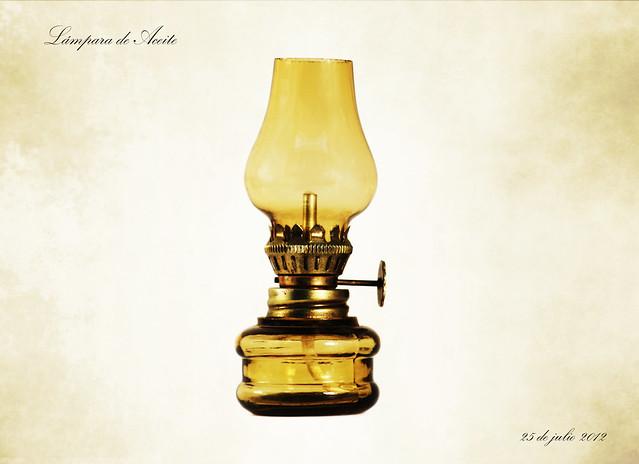 L mpara de aceite flickr photo sharing - Lampara con ventilador de techo ...
