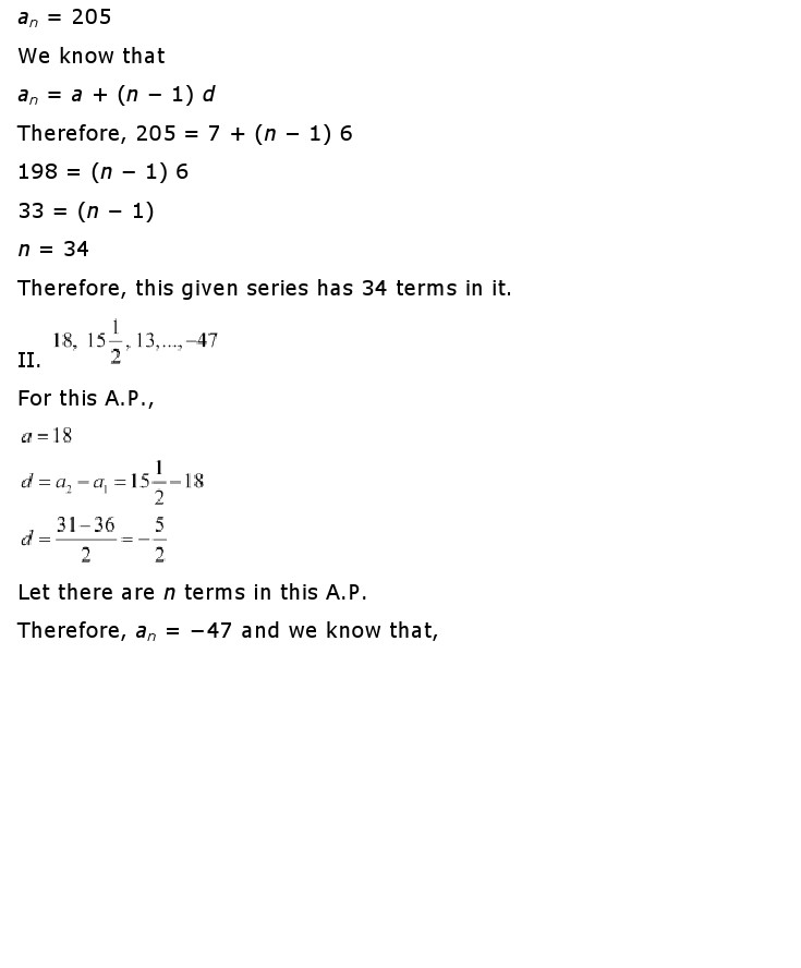 NCERT Solutions For Class 10 Maths Chapter 5 Arithmetic Progressions AP PDF Download 2018-19 freehomedelivery.net