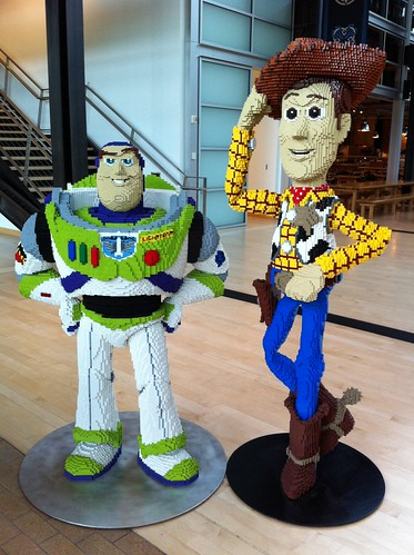 Woody and Buzz at Pixar