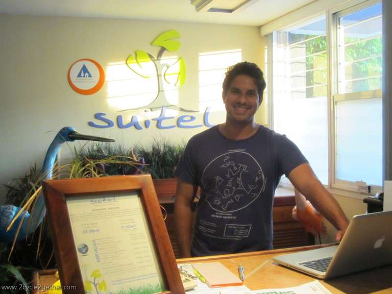 Sichem, owner of Suitel 522 Ecological Hostel