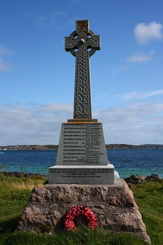 War Memorial Cross on Iona