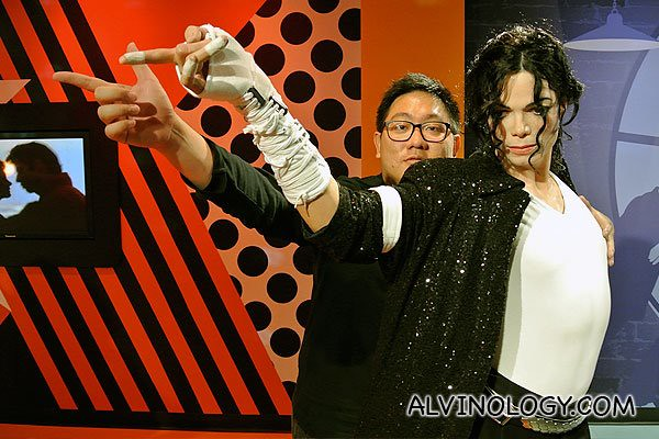 Me with King of Pop, Michael Jackson