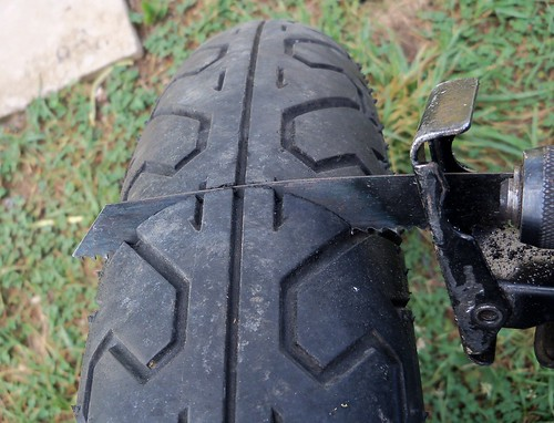 The 520 chain cafe fast and easy old motorcycle tire for What can you make out of old tires