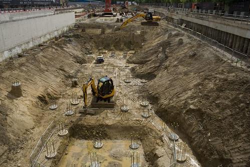 Woolwich basement site