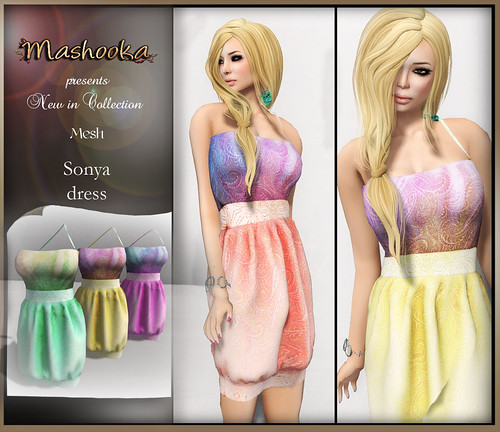 poster Sonya dress B