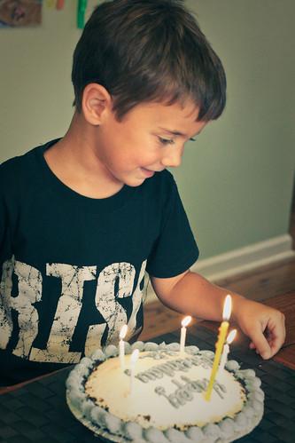 Eli's 5th birthday