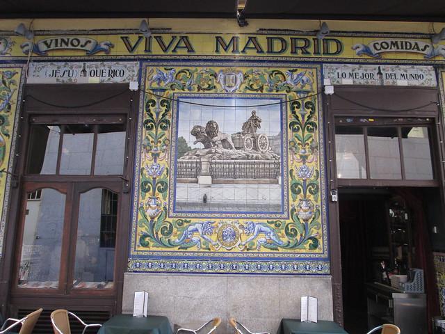 Taberba Viva Madrid, Barrio de Las Letras. Madrid