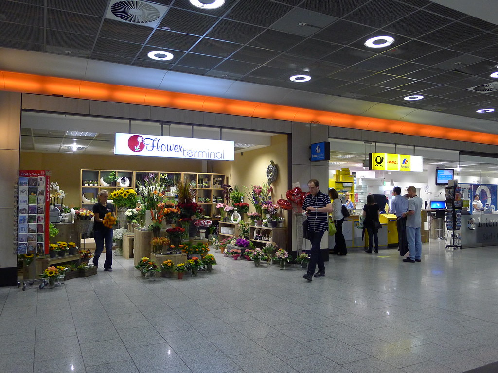 Arrival Frankfurt Flughafen