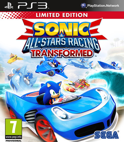 Sonic & All-Stars Racing Transformed - Europe Limited Edition