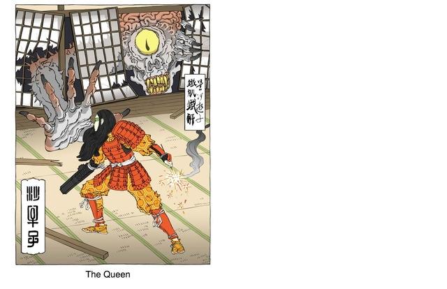 Ukiyo-e Heroes, Personagens dos Jogos no estilo Clássico Japonês