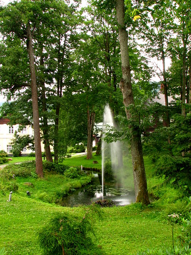 park fountain vodotrysk karlovastudánka northmoravia olomouckýkraj severnímorava jeseníky2012