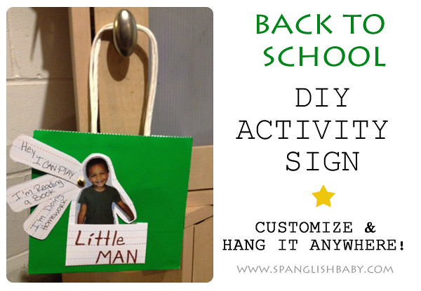 BTS  DIY activity sign copy