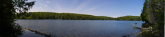 Canadian Lake Panorama