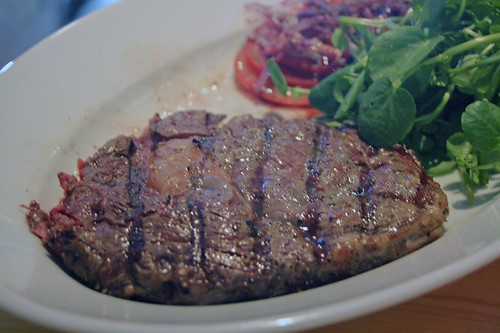 Cornish rib eye steak