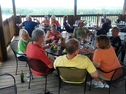 BikeMO After-Party at Les Bourgeois Winery