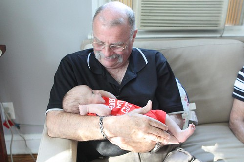 Grandpa with Martin