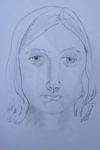 Self-portrait (front view)