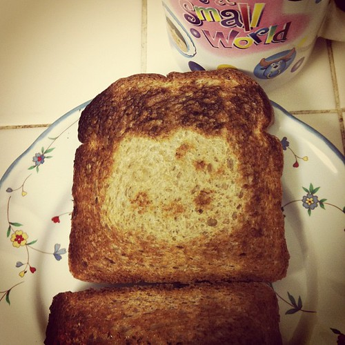 This was the best te itade Hello Kitty toast!