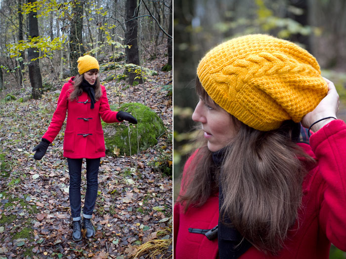 Molly – knitted hat.