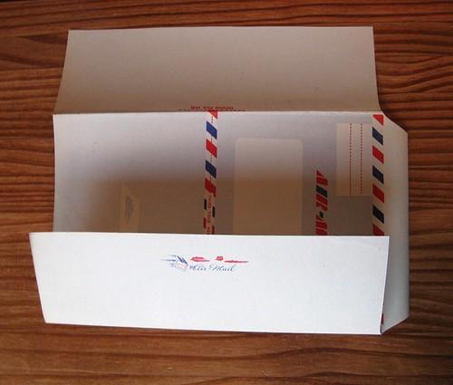 Vintage Envo-Letters aerogramme