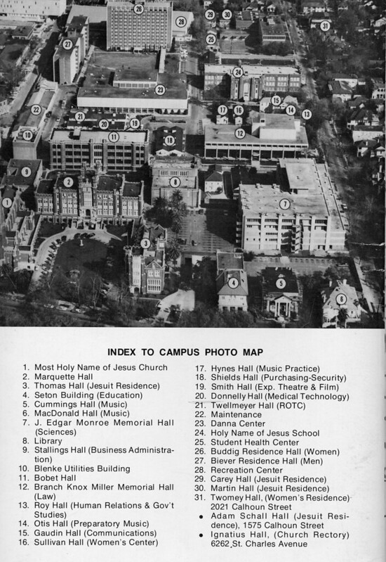 Aerial Image of Campus 1975