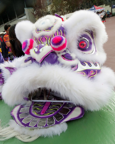 Purple Chinese Lion Photo by Sherrie Thai of ShaireProductions.com