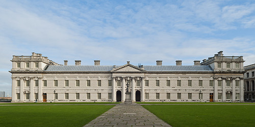 Eastern Wing of the Royal Naval College, Greenwich London