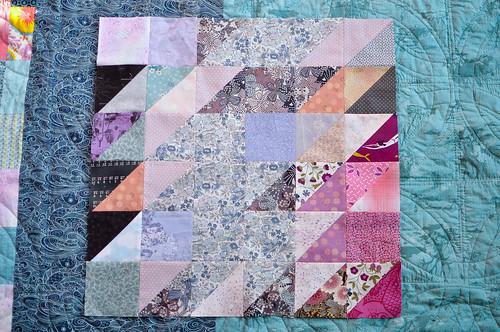V&A Quilt block