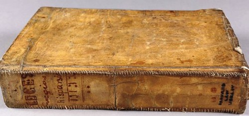 Harvard book not bound in human skin