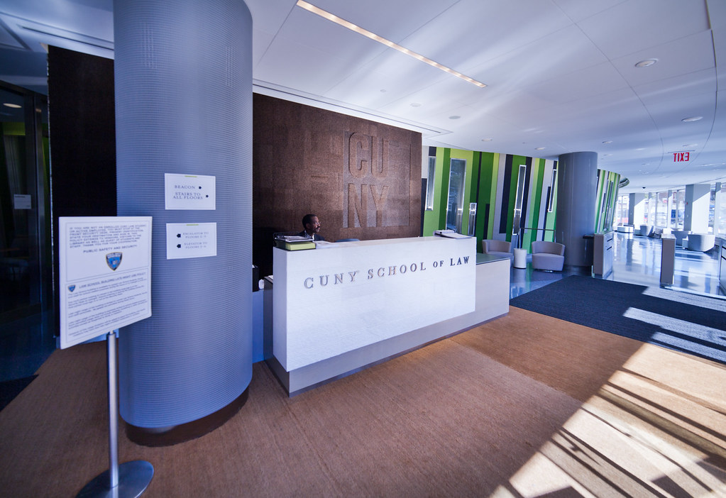 Our law school building is open 24 hours a day, 7 days a week with security manning the front desk at all times.