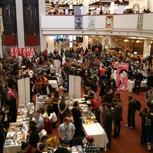 Looking down #toronto #tcaf #torontoreferencelibrary