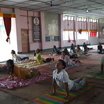 Yoga Class held in VKAJ Roing