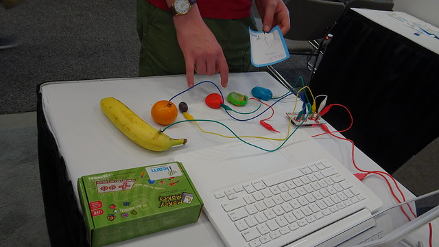 Playdoh Fruit Piano