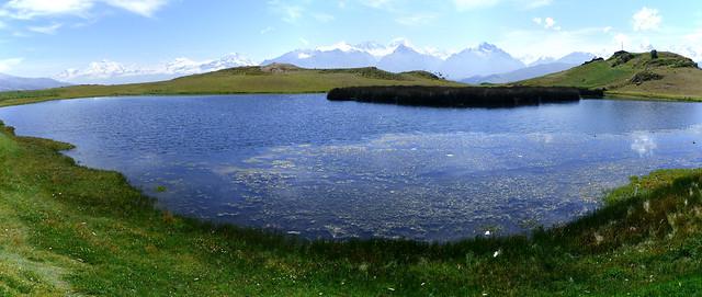pano devant la lagune wilacocha