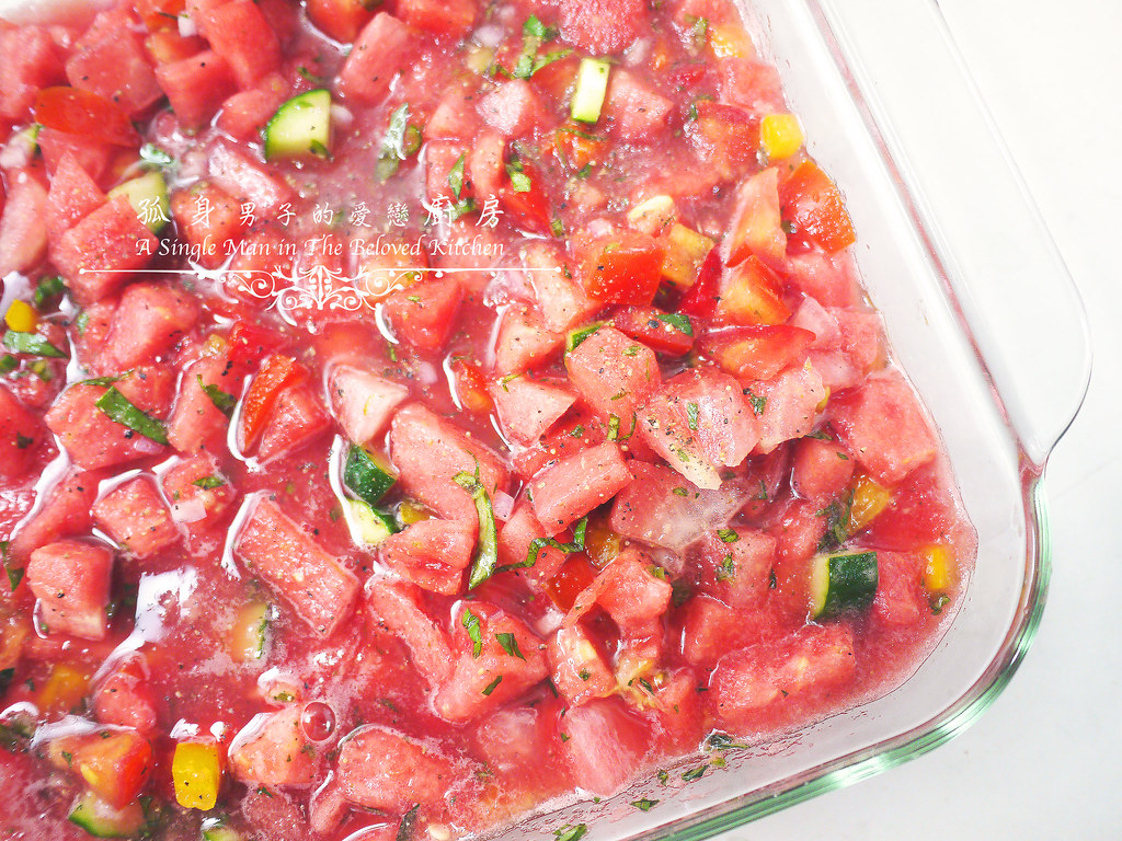 孤身廚房-西班牙西瓜冷湯20