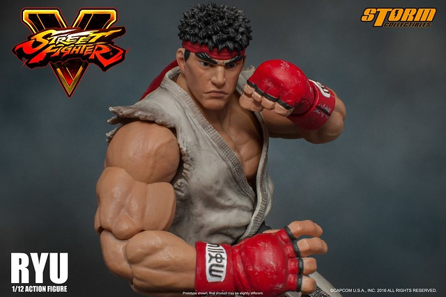 Storm Collectibles - 《快打旋風5》1/12 比例 隆 Ryu 1:12 scale action figure