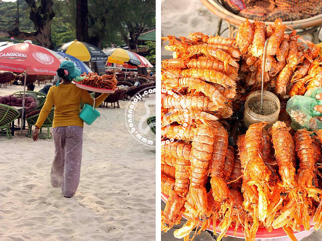 Cheap Seafood on the Beaches of Sihanoukville