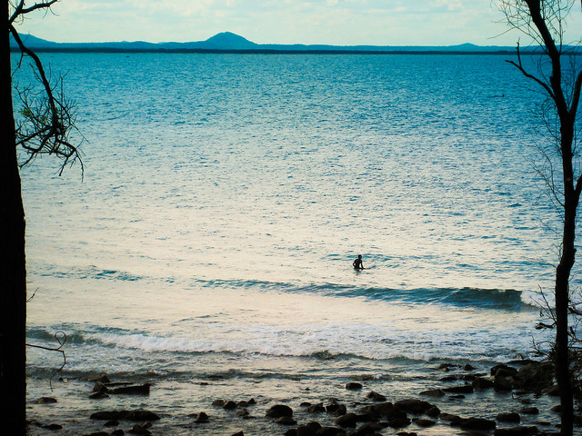 A beach all to yourself - Flickr CC nblumhardt