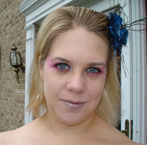 Me as Effie Trinket