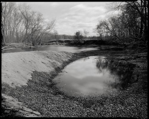film minnesota river kodak minneapolis pinhole 8x10 photograph xray scanned crow mn largeformat pinholephotography crowriver 16secondexposure caffenolc 202mm scottstillman 6mmpinhole singleemulsion