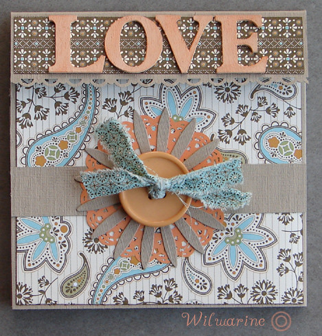 Mini album love couverture