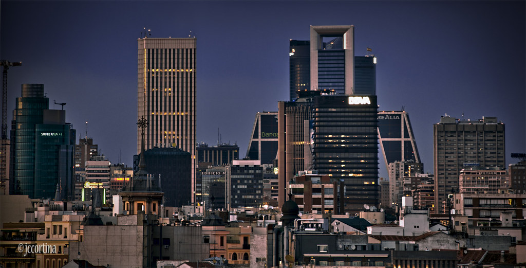 Discuss best european skyline p gina 30 skyscrapercity - Cortinas madrid centro ...