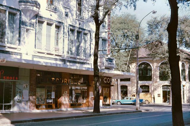 Saigon 1965 - SAIGON PALACE HOTEL góc Tự Do - Ngô Đức Kế